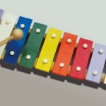 Xylophone For Making Music in Rochdale Day Care